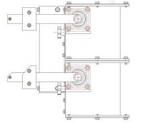 Double flap valves