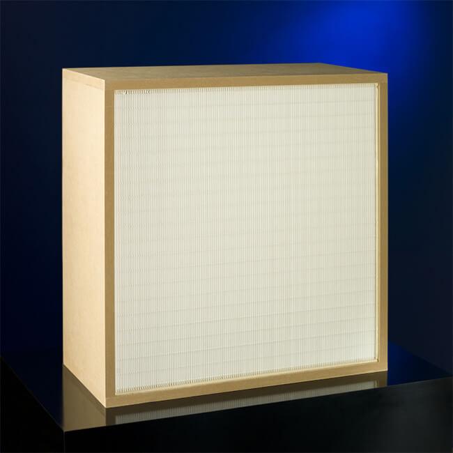 Hepa-Filter Frontansicht