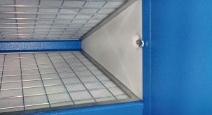 Duct air filter