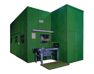 Soundproof Booths, machine enclosures, partition wall systems