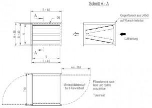 Kanalluftfilter KSI